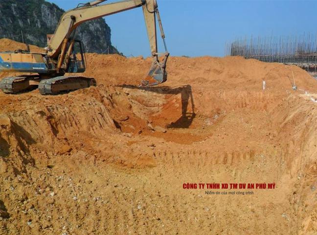 Lưu ý về hoàn cảnh khu vực đào đất hố móng