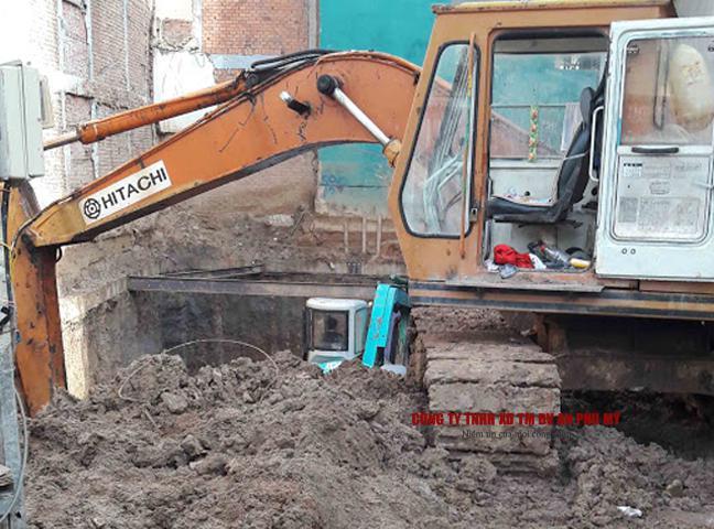 Quy trình và trình tự thi công đào đất