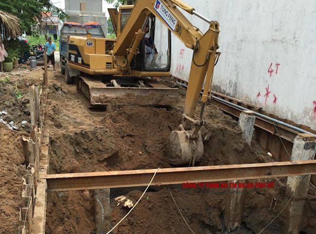 Công thức tính khối lượng đào đất