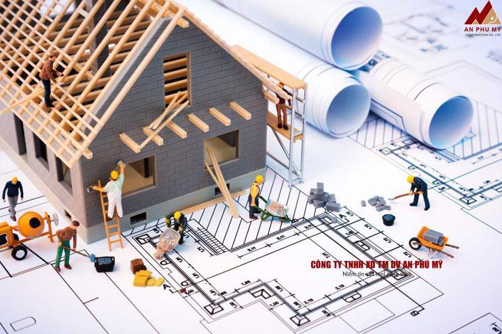 Cách quy đổi diện tích từng phần của móng nhà