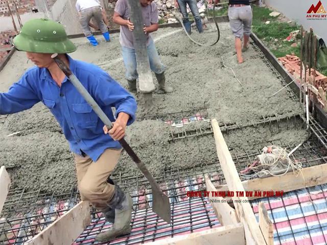 Sử dụng bê tông tươi trong công trình
