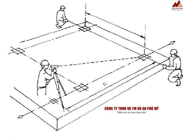Cách thực hiện giác móng nhà bằng phương pháp thủ công