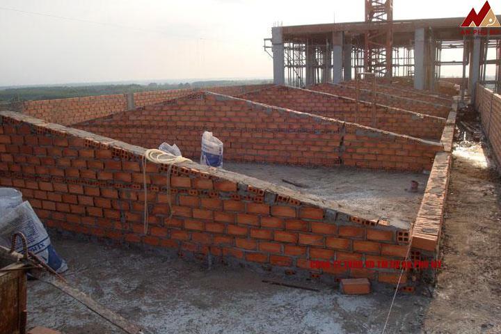 Một vài yêu cầu khi xây dựng giằng tường