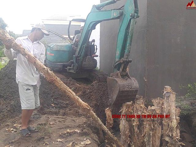 Ưu điểm nổi bật khi thi công móng cừ tràm trong công trình xây dựng
