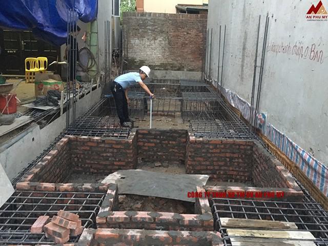 Vật liệu cần có để xây dựng móng dơn nhà 3 tầng