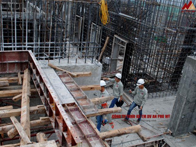Cách đổ bê tông từng hạng mục công trình