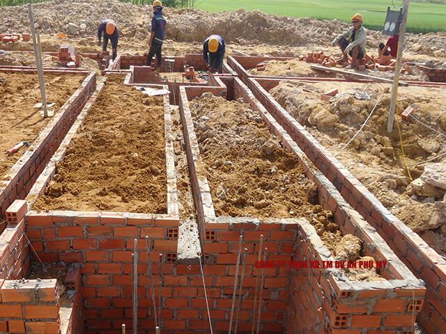 quy trinh thi công đào đất tầng hầm