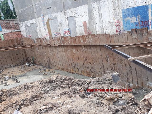 tiêu chuẩn kỹ thuật khi đào đất tầng hầm