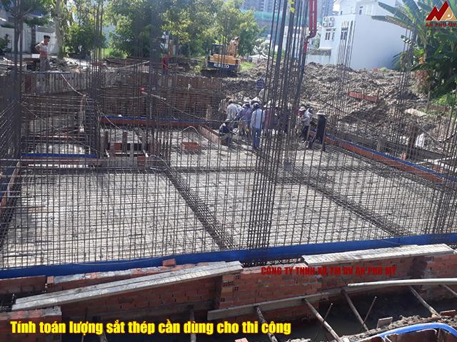 Cách tính sắt thép xây nhà chính xác nhất