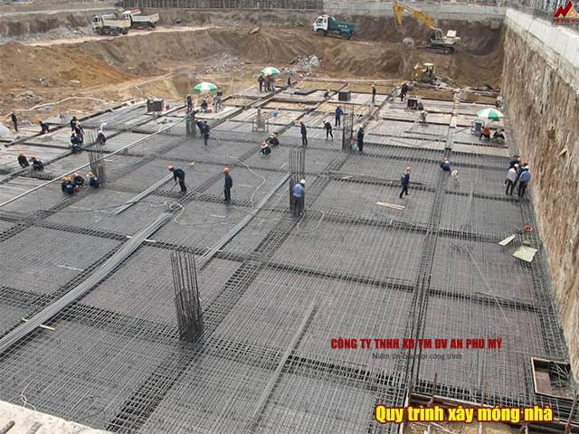 Quy trình xây dựng móng nhà